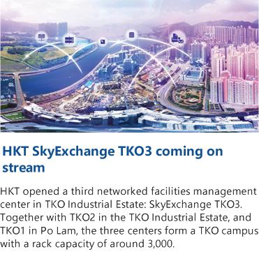 HKT SkyExchange TKO3 coming on stream
